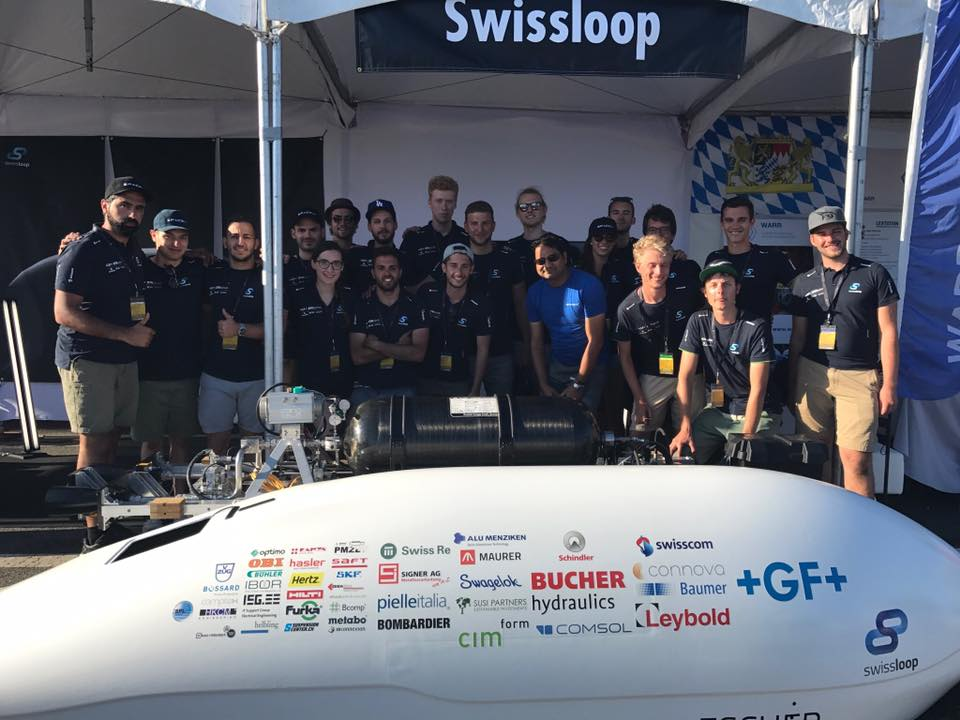 swissloop team