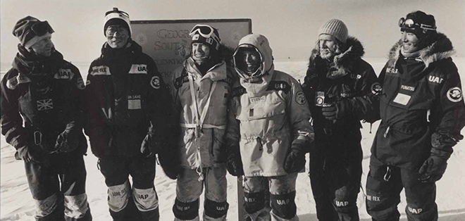 arctic expedition team