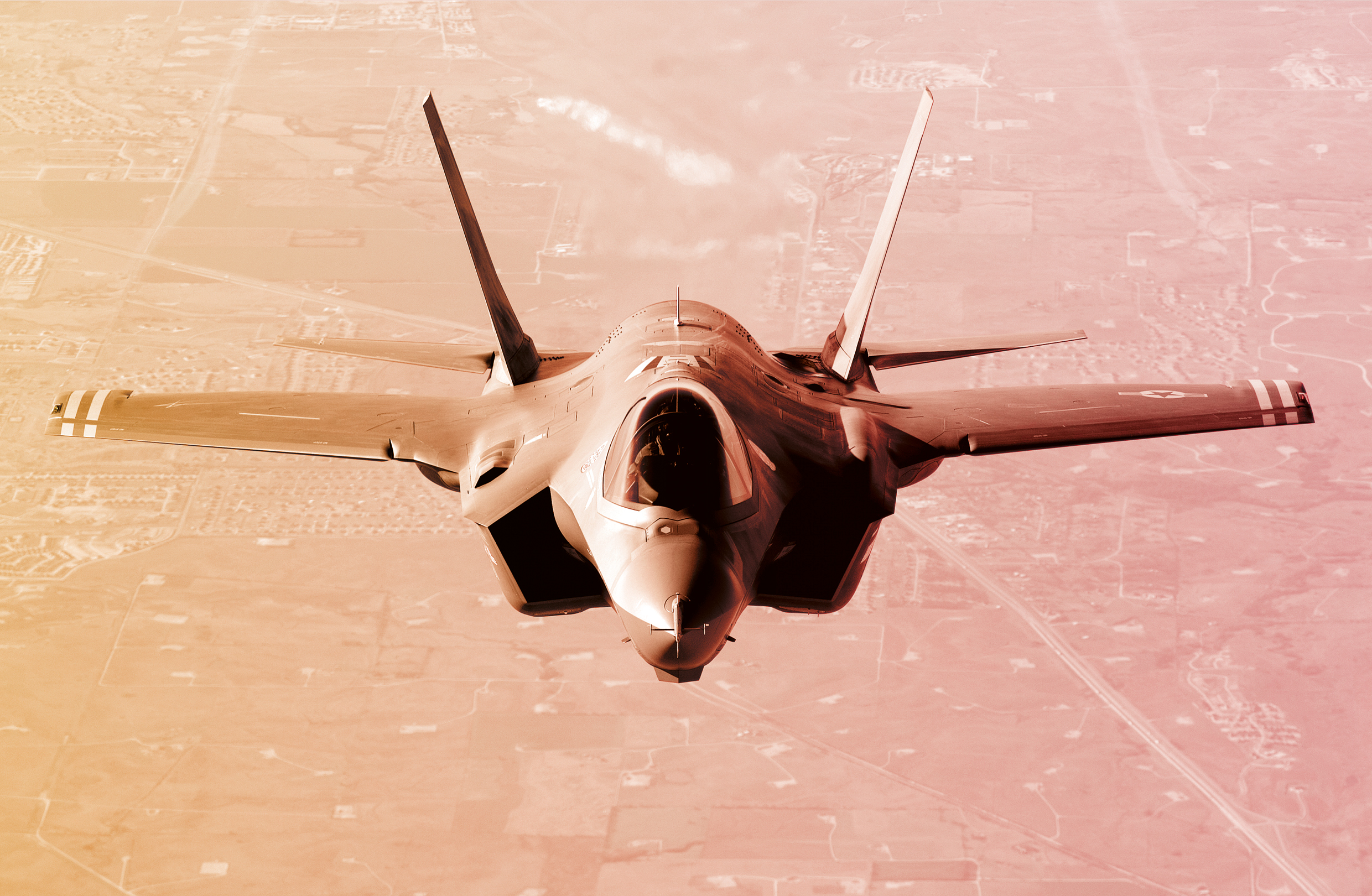 Fighter jet equipped with Li-ion batteries