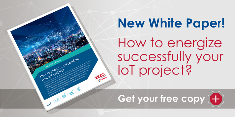 Promotion image for Saft's IoT white paper