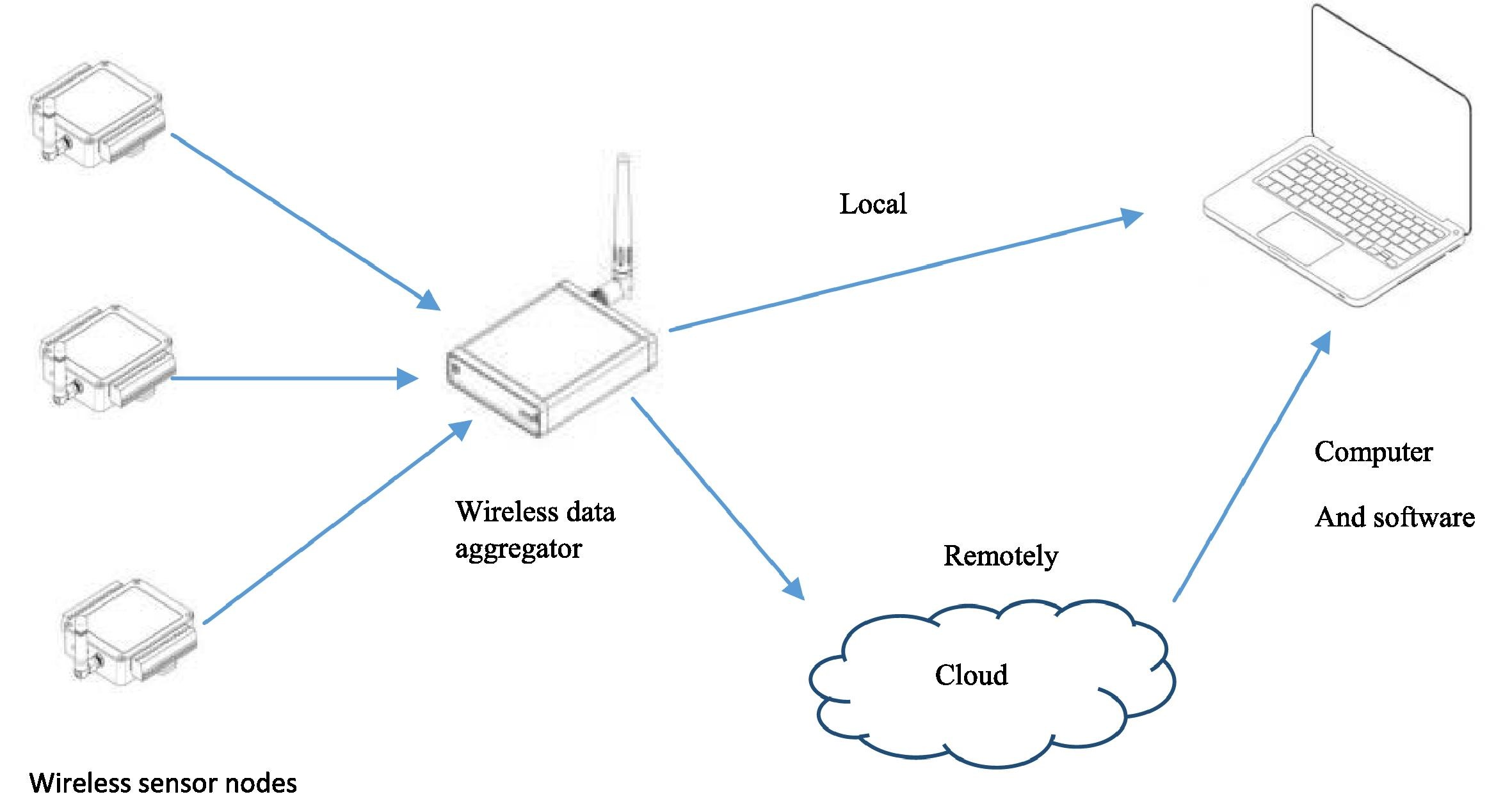 Wireless sensor nodes
